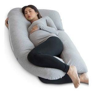 Best Bed Pillows Options: PharMeDoc Pregnancy Pillow, U-Shape Full Body Maternity Pillow