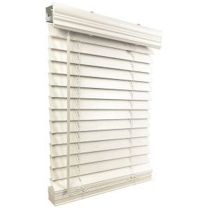 "The Best Blinds Option: US Window And Floor 2"" Faux Wood Cordless Blinds"
