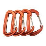 The Best Carabiners Option: L-Rover Ultra Sturdy Locking Carabiner Clips