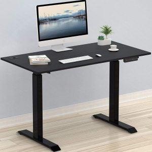 The Best Computer Desk Option: SHW Electric Height Adjustable Computer Desk