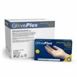 The Best Disposable Gloves Option: AMMEX GlovePlus Industrial Clear Vinyl Gloves