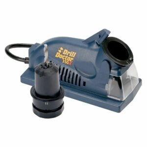 The Best Drill Bit Sharpener Option: Drill Doctor DD350X Drill Bit Sharpener