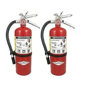Best Fire Extinguishers Options: Amerex B500, 5lb ABC Dry Chemical Class A B C Fire Extinguisher