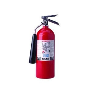 Best Fire Extinguishers Options: Kidde 466180 Pro 5 Carbon Dioxide, Food and Electronic Safe