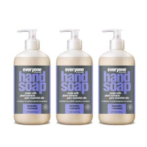 Best Hand Soap Options: Everyone Hand Soap Lavender and Coconut, 12