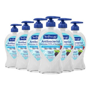 Best Hand Soap Options: Softsoap Antibacterial Liquid Hand Soap