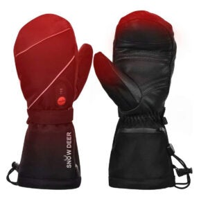 Best Heated Gloves Options: Heated Gloves,Mens Womens Heated Ski Gloves Mittens