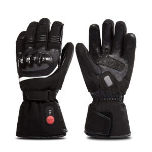 Best Heated Gloves Options: SAVIOR HEAT Motorcycle Gloves for Men and Women