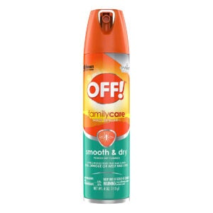 Best Insect Repellent Options: OFF! FamilyCare Insect Repellent I Smooth & Dry 4 Ounce