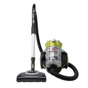 Best Canister Vacuum Options: Bissell Powergroom Multicyclonic Bagless Canister Vacuum