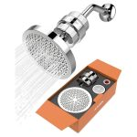 The Best Shower Filter Option: ADOVEL High Output Shower Head and Hard Water Filter