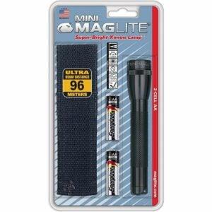 最好的小型手电筒选项:Maglite迷你白炽2-Cell AA手电筒