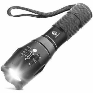 最佳小型手电筒选择:亿丰XML T6战术超亮LED手电筒