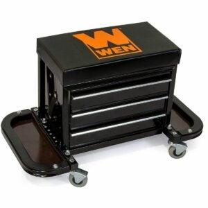 最佳工具箱选择:WEN车库滑翔机滚动工具箱