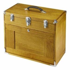 最佳工具柜选择:温莎八抽屉木质工具柜