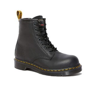 Best Work Boot Options: Dr. Martens Women's Maple Zip Steel Toe Industry Boot