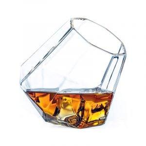 最好的威士忌玻璃选项:龙玻璃器皿钻石威士忌眼镜