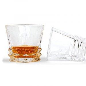 最好的威士忌玻璃选项:Maketh Man Premium Art Deco Whiskey Glass Set