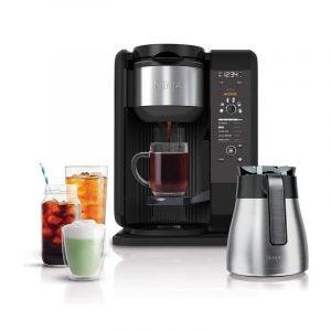 最佳热咖啡壶选择:忍者热和冷冲泡系统