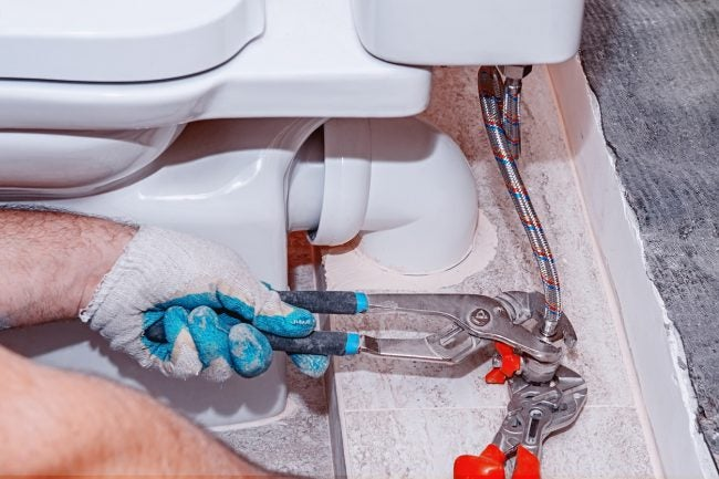 Replace a Toilet Shut-Off Valve: Remove the Old Valve