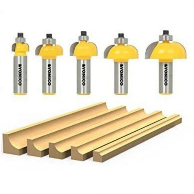 The Router Bit Types Option: Cove