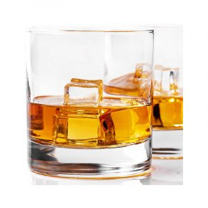 最好的威士忌玻璃选项:Taylor'd里程碑玻璃器皿威士忌玻璃套2