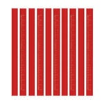 The Best Carpenter Pencil Option: BUSHIBU Flat Premium Quality Carpenter's Pencil