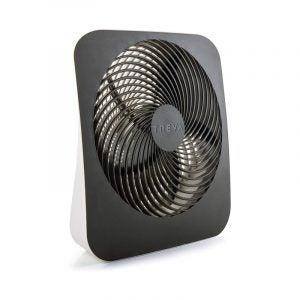 最好的桌子风扇选项:O2Cool Treva 10英寸便携式桌面电池风扇
