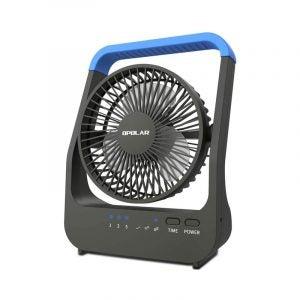 最好的桌子风扇选项:Owolar D-Cell电池供电的桌面风扇