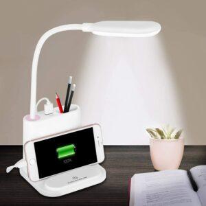 The Best Desk Lamp Option: NovoLido LED Rechargeable Desk Lamp