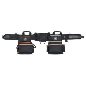 The Best Electrician Tool Belt Option: Klein Tools 55429 Tradesman Pro Electrician's Belt