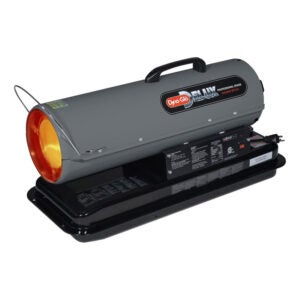 最佳非电加热器选择:Dyna-Glo 50,000 BTU煤油强制空气加热器