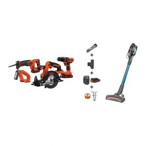 The Best Power Tool Set Option: BLACK+DECKER 20V MAX Cordless Drill with Vacuum