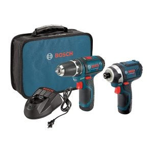 最好的电动工具集选项:博世电动工具组合集,CLPK22-120