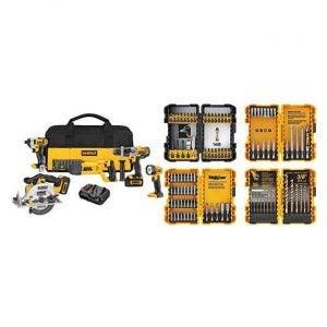 最佳电源工具集选项:德沃特DCK592L2 20V MAX Premium 5工具组合套件