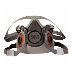 The Best Respirator Option: 3M Thermoplastic Elastomer Half Mask 6000 Series