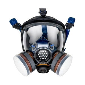 The Best Respirator Option: Parcil Distribution PT-100 Full Face Respirator