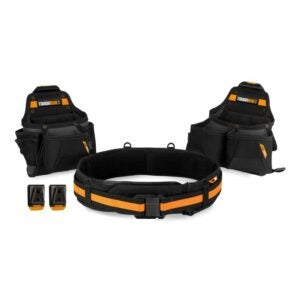 The Best Tool Belt Electrician Option: ToughBuilt - Tradesman Tool Belt Set - 3 Piece