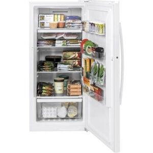 The Best Upright Freezer Option: GE 14.1 cu. ft. Frost Free Upright Freezer