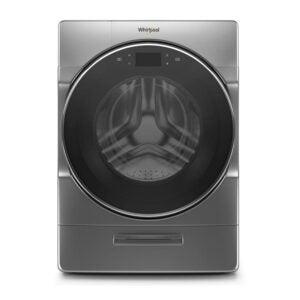 最佳洗衣机选择:惠而浦5.0杯。FT。前负载洗衣机