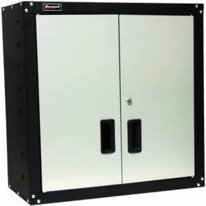 The Best Tool Chests Option: Homak 2 Door Wall Cabinet with 2 Shelves, Steel