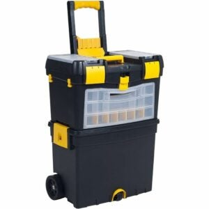 The Best Tool Chests Option: Stalwart Rolling Toolbox with Wheels