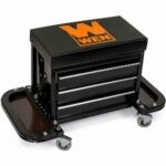 The Best Tool Chests Option: WEN 73015 Garage Glider Rolling Tool Chest Seat