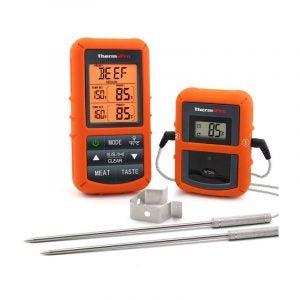 最佳肉温度计选项:ThermoPro TP20无线遥控肉温度计
