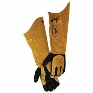 "The Bbq Gloves Option: Caiman 1878 21"" Deerskin Specialty Welders Gloves"