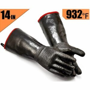 The Bbq Gloves Option: Jolly Green Products Ekogrips Premium BBQ Oven Gloves