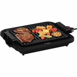 The Best Electric Grill Option: T-fal Compact Smokeless Indoor Electric Grill
