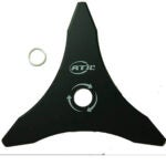 最佳刷切割机选项:Atie 12 x 3齿升降钢刷切割机,修剪器