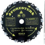 Best Brush Cutters Options: Forester Chainsaw Tooth 9 Brush Blade