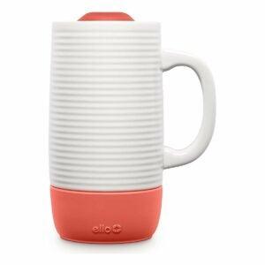 最佳咖啡杯选择:Ello Jane陶瓷旅行杯